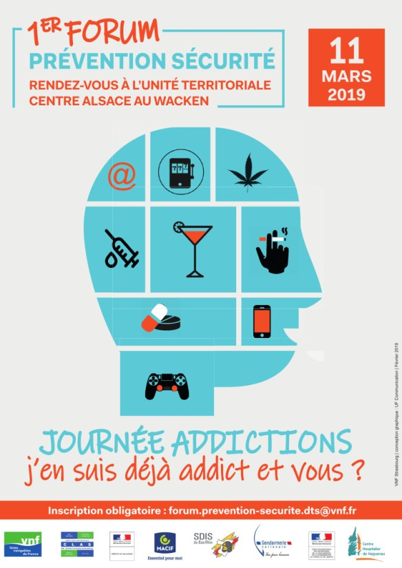 Affiche journée addictions